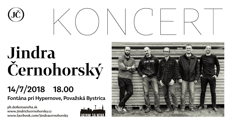 ebaefc7e6b Ďalší hudobný večer v Považskej Bystrici bude opäť pod holým nebom. Príďte v  sobotu 14. 7. 2018 o 18 00 na koncert k fontáne pri kine MIER neďaleko ...